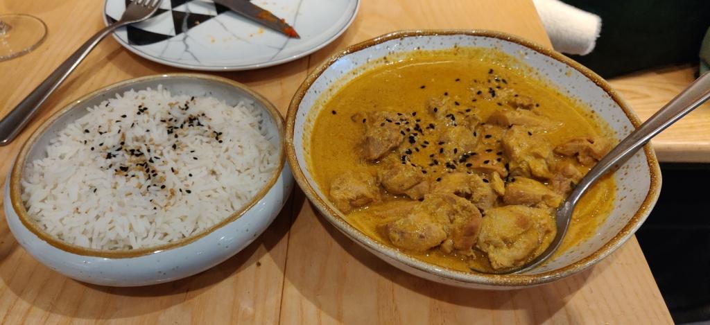 Curry Thai en Cocoricó Sant Cugat