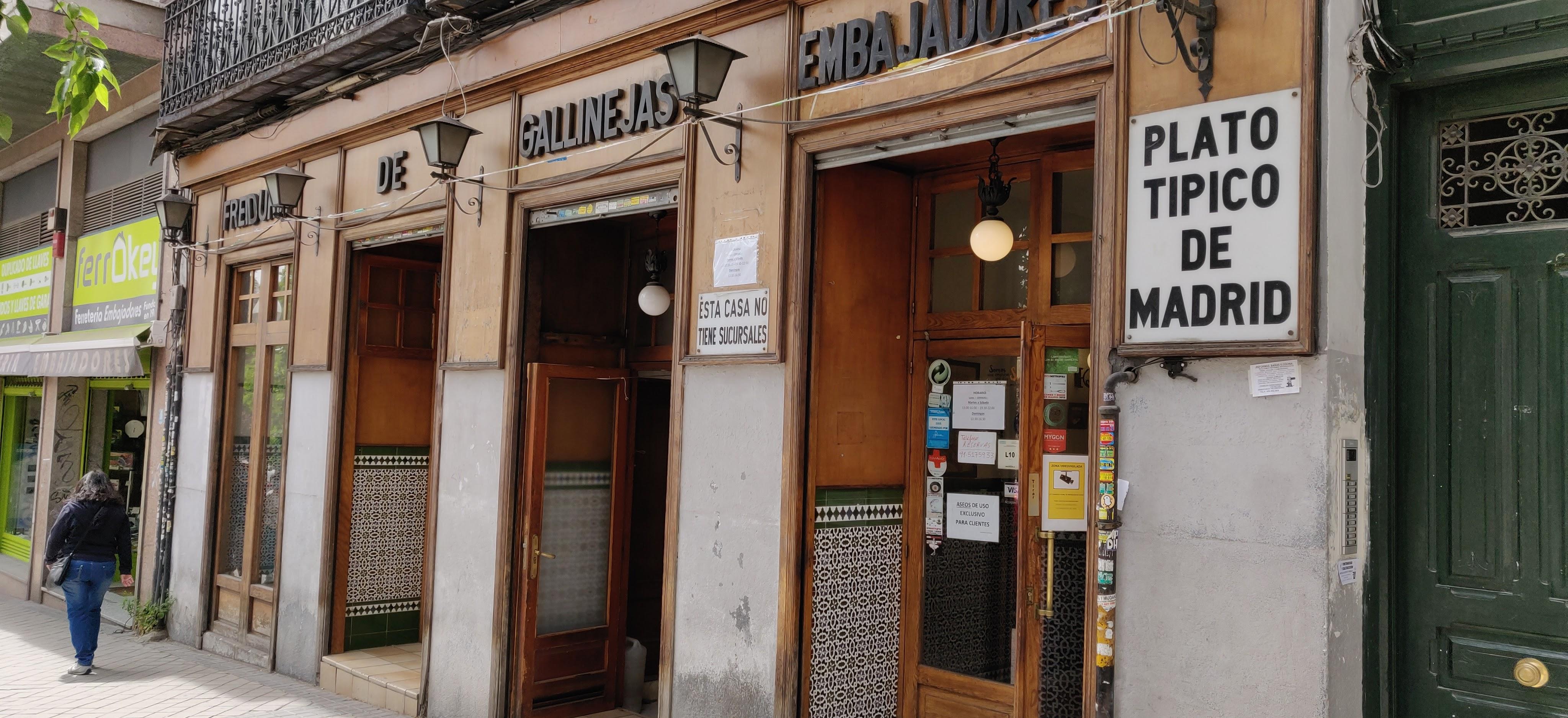 Restaurante Freiduria de Gallinejas Embajadores